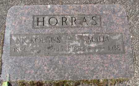 HORRAS, AMALIA - Tillamook County, Oregon | AMALIA HORRAS - Oregon Gravestone Photos