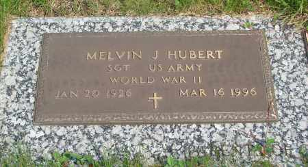 HUBERT (WWII), MELVIN J - Tillamook County, Oregon | MELVIN J HUBERT (WWII) - Oregon Gravestone Photos