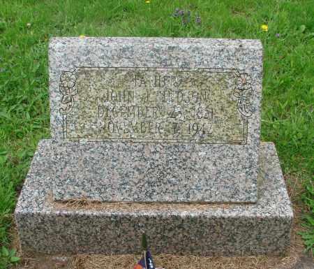 HUDSON, JOHN JACKSON - Tillamook County, Oregon | JOHN JACKSON HUDSON - Oregon Gravestone Photos
