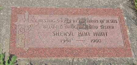 HUNT, SHERYL ANN - Tillamook County, Oregon   SHERYL ANN HUNT - Oregon Gravestone Photos