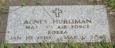 HURLIMAN, AGNES - Tillamook County, Oregon | AGNES HURLIMAN - Oregon Gravestone Photos