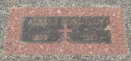 HURLIMAN, ALBERT - Tillamook County, Oregon | ALBERT HURLIMAN - Oregon Gravestone Photos