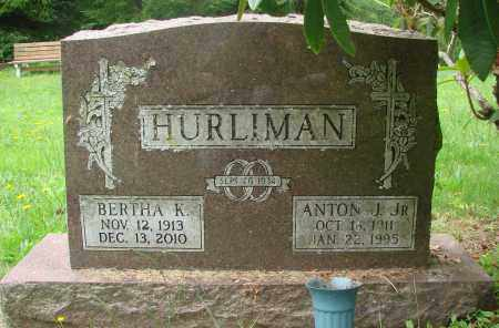 HURLIMAN, ANTON J JR - Tillamook County, Oregon | ANTON J JR HURLIMAN - Oregon Gravestone Photos