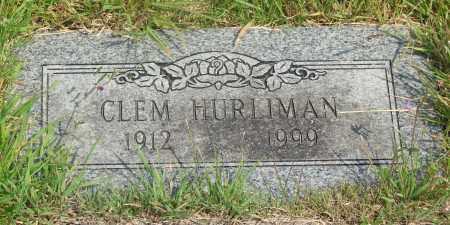 HURLIMAN, CLEM C - Tillamook County, Oregon | CLEM C HURLIMAN - Oregon Gravestone Photos