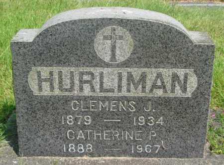 HURLIMAN, CATHERINE P - Tillamook County, Oregon | CATHERINE P HURLIMAN - Oregon Gravestone Photos