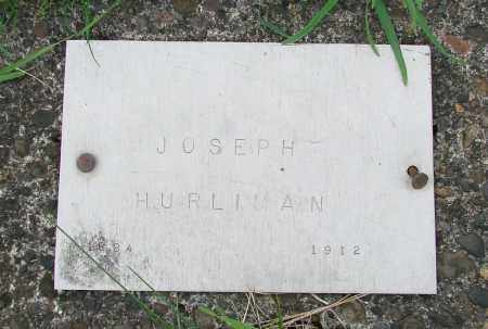 HURLIMAN, JOSEPH - Tillamook County, Oregon   JOSEPH HURLIMAN - Oregon Gravestone Photos