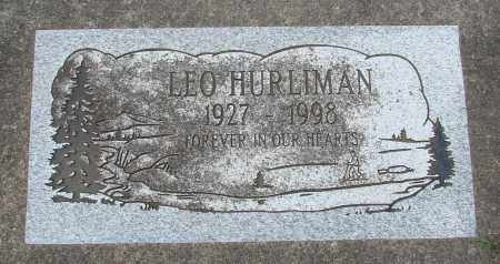 HURLIMAN, LEO - Tillamook County, Oregon | LEO HURLIMAN - Oregon Gravestone Photos
