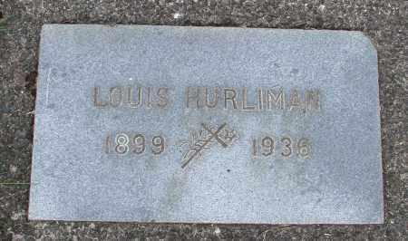 HURLIMAN, LOUIS - Tillamook County, Oregon | LOUIS HURLIMAN - Oregon Gravestone Photos