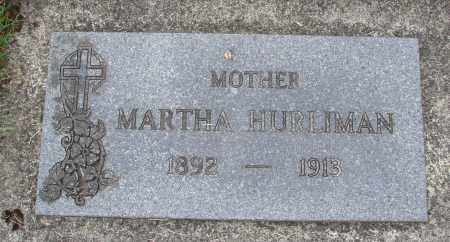 HURLIMAN, MARTHA - Tillamook County, Oregon | MARTHA HURLIMAN - Oregon Gravestone Photos