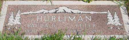 HURLIMAN, PETER - Tillamook County, Oregon | PETER HURLIMAN - Oregon Gravestone Photos