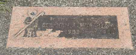 HURLIMAN, STEPHEN A - Tillamook County, Oregon | STEPHEN A HURLIMAN - Oregon Gravestone Photos