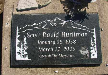 HURLIMAN, SCOTT DAVID - Tillamook County, Oregon | SCOTT DAVID HURLIMAN - Oregon Gravestone Photos