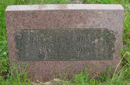 HUSSEY, HELEN GRACE - Tillamook County, Oregon | HELEN GRACE HUSSEY - Oregon Gravestone Photos