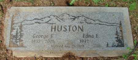 HUSTON, EDNA E - Tillamook County, Oregon | EDNA E HUSTON - Oregon Gravestone Photos