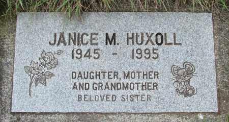 HUXOLL, JANICE M - Tillamook County, Oregon | JANICE M HUXOLL - Oregon Gravestone Photos