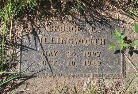 ILLINGWORTH, GEORGE EDGER - Tillamook County, Oregon | GEORGE EDGER ILLINGWORTH - Oregon Gravestone Photos