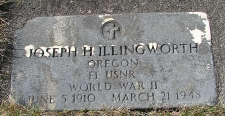 ILLINGWORTH (WWII), JOSEPH H - Tillamook County, Oregon | JOSEPH H ILLINGWORTH (WWII) - Oregon Gravestone Photos