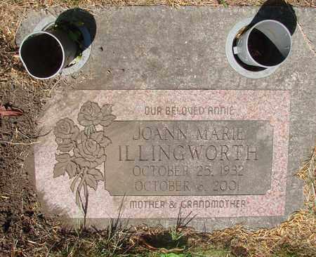 ILLINGWORTH, JOANN MARIE - Tillamook County, Oregon | JOANN MARIE ILLINGWORTH - Oregon Gravestone Photos