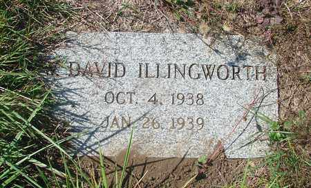 ILLINGWORTH, W DAVID - Tillamook County, Oregon | W DAVID ILLINGWORTH - Oregon Gravestone Photos