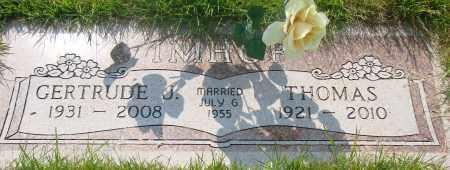 IMHOF, THOMAS - Tillamook County, Oregon | THOMAS IMHOF - Oregon Gravestone Photos