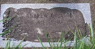 JACOB, ANDREW C - Tillamook County, Oregon | ANDREW C JACOB - Oregon Gravestone Photos