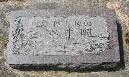 JACOB, DAN PAUL - Tillamook County, Oregon | DAN PAUL JACOB - Oregon Gravestone Photos