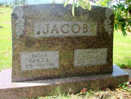 JACOB, GRACE L - Tillamook County, Oregon | GRACE L JACOB - Oregon Gravestone Photos