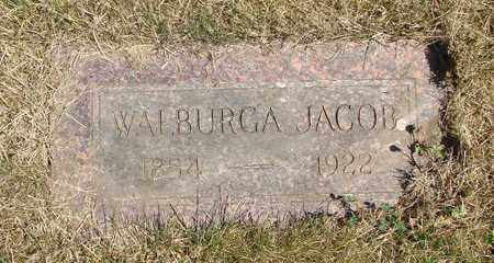 JACOB, WALBURGA - Tillamook County, Oregon | WALBURGA JACOB - Oregon Gravestone Photos