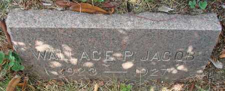 JACOB, WALLACE PETER - Tillamook County, Oregon | WALLACE PETER JACOB - Oregon Gravestone Photos
