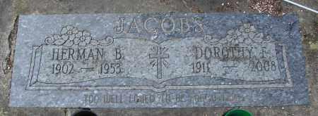 JACOBS, HERMAN B - Tillamook County, Oregon | HERMAN B JACOBS - Oregon Gravestone Photos
