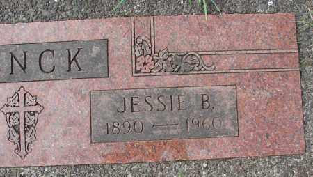 JENCK, JESSIE B - Tillamook County, Oregon   JESSIE B JENCK - Oregon Gravestone Photos