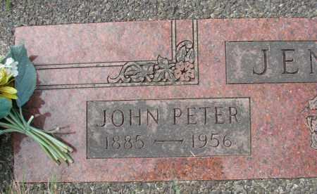 JENCK, JOHN PETER - Tillamook County, Oregon | JOHN PETER JENCK - Oregon Gravestone Photos