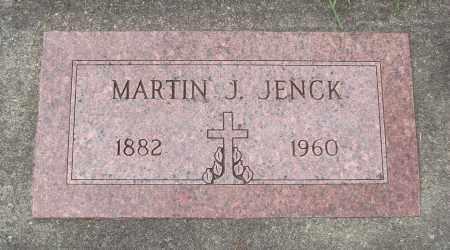 JENCK, MARTIN J - Tillamook County, Oregon | MARTIN J JENCK - Oregon Gravestone Photos