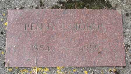 JOHNS, PENNY L - Tillamook County, Oregon   PENNY L JOHNS - Oregon Gravestone Photos