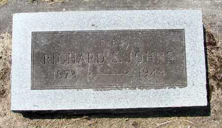 JOHNS, RICHARD S - Tillamook County, Oregon   RICHARD S JOHNS - Oregon Gravestone Photos