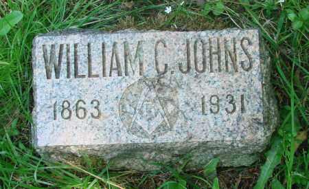 JOHNS, WILLIAM C - Tillamook County, Oregon | WILLIAM C JOHNS - Oregon Gravestone Photos