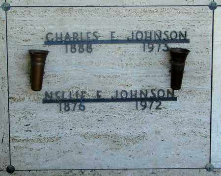 JOHNSON, NELLIE E - Tillamook County, Oregon | NELLIE E JOHNSON - Oregon Gravestone Photos