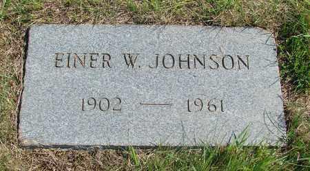 JOHNSON, EINER W - Tillamook County, Oregon | EINER W JOHNSON - Oregon Gravestone Photos