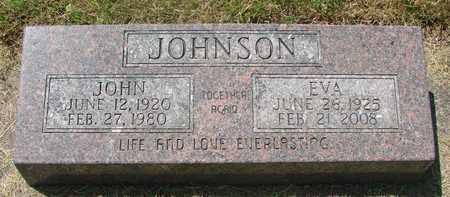 JOHNSON, EVA MAY - Tillamook County, Oregon | EVA MAY JOHNSON - Oregon Gravestone Photos