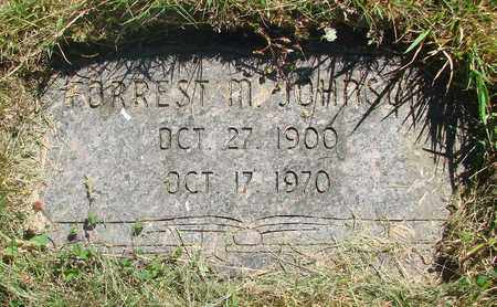 JOHNSON, FORREST M - Tillamook County, Oregon | FORREST M JOHNSON - Oregon Gravestone Photos