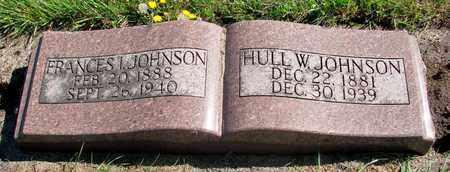 JOHNSON, HULL W - Tillamook County, Oregon   HULL W JOHNSON - Oregon Gravestone Photos