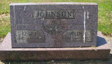 JOHNSON, HELEN E - Tillamook County, Oregon | HELEN E JOHNSON - Oregon Gravestone Photos