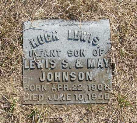 JOHNSON, HUGH LEWIS - Tillamook County, Oregon   HUGH LEWIS JOHNSON - Oregon Gravestone Photos