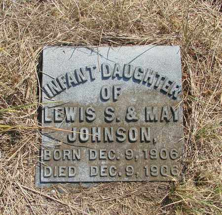 JOHNSON, INFANT DAUGHTER - Tillamook County, Oregon | INFANT DAUGHTER JOHNSON - Oregon Gravestone Photos