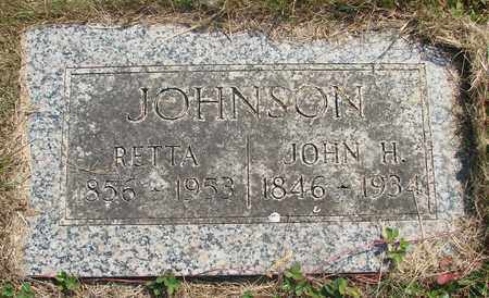 JOHNSON, JOHN H - Tillamook County, Oregon | JOHN H JOHNSON - Oregon Gravestone Photos