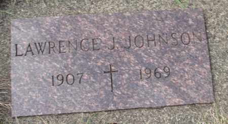 JOHNSON, LAWRENCE J - Tillamook County, Oregon | LAWRENCE J JOHNSON - Oregon Gravestone Photos