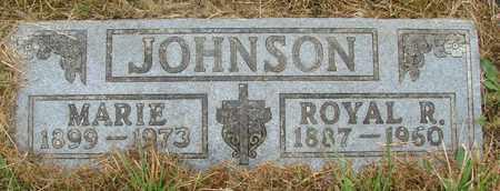 JOHNSON, MARIE - Tillamook County, Oregon   MARIE JOHNSON - Oregon Gravestone Photos