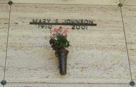 JOHNSON, MARY E - Tillamook County, Oregon | MARY E JOHNSON - Oregon Gravestone Photos