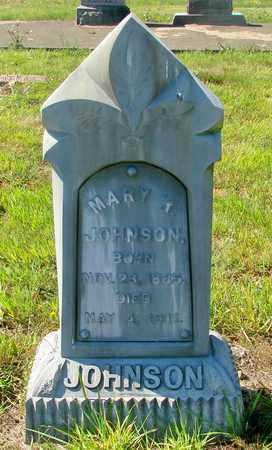 JOHNSON, MARY R - Tillamook County, Oregon | MARY R JOHNSON - Oregon Gravestone Photos