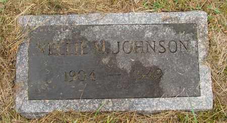 JOHNSON, NELLIE M - Tillamook County, Oregon | NELLIE M JOHNSON - Oregon Gravestone Photos